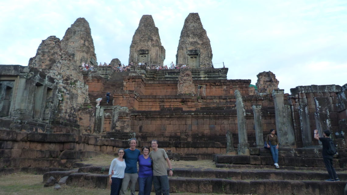 Retrouvailles en famille pour Noël : Du 17 au 26 décembre 2019 (Angkor et Khao Yai)