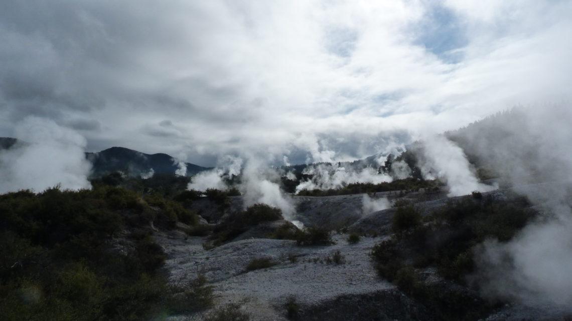 Pluies et fumées : 9 au 21 juillet (Gisborne > Rotorua)